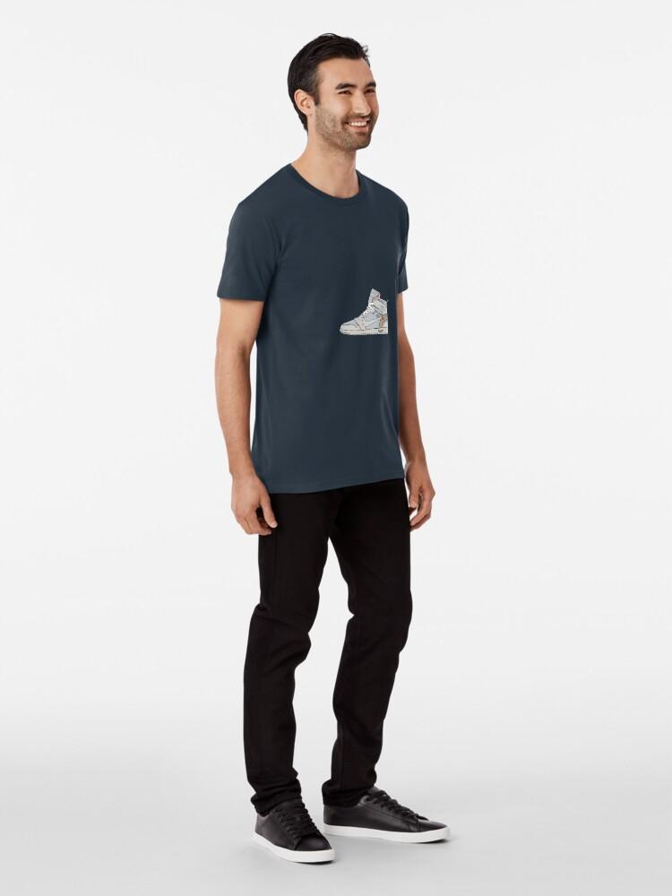 e8890cea0dcb02 Alternate view of Off-white Jordan 1 Premium T-Shirt