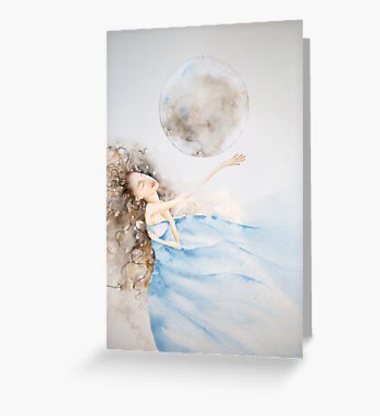 il bagno al chiaro di luna © 2009 patricia vannucci  Greeting Card