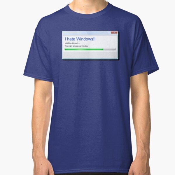I Hate Windows Classic T-Shirt