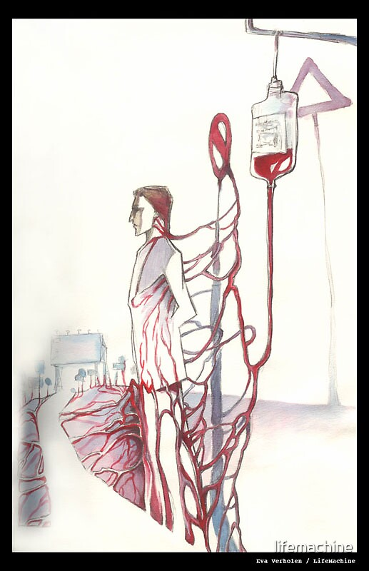 transfusion traffic by lifemachine