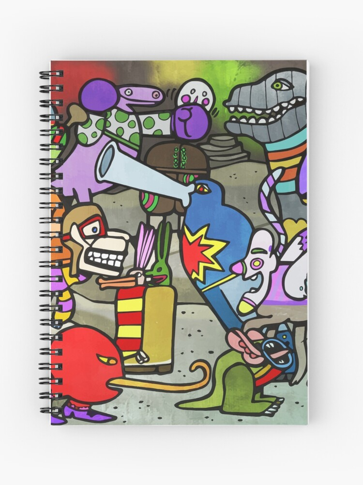 best service b9733 1854e Sea of Monsters Yellow Submarine Spiral Notebook