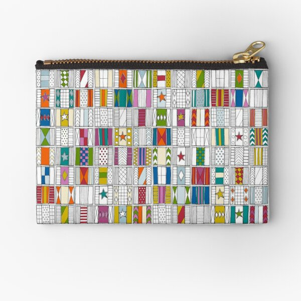 racing silks Zipper Pouch