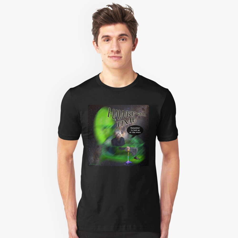 Hawking Remembered  Unisex T-Shirt Front