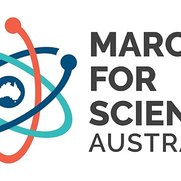 March for Science Australia logo - dark, no date by sciencemarchau