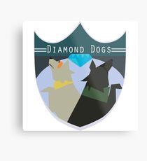 Diamond Dogs Metal Print