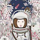 Lady Astronaut by Yuliya Art
