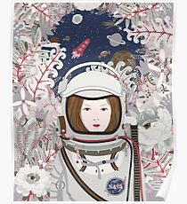 Lady Astronaut Poster
