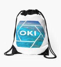 Okinawa Graphic Drawstring Bag