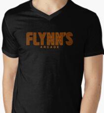 Flynn's Arcade Men's V-Neck T-Shirt