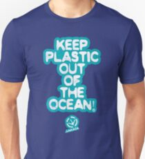Keep Plastic Out Of The Ocean Unisex T-Shirt