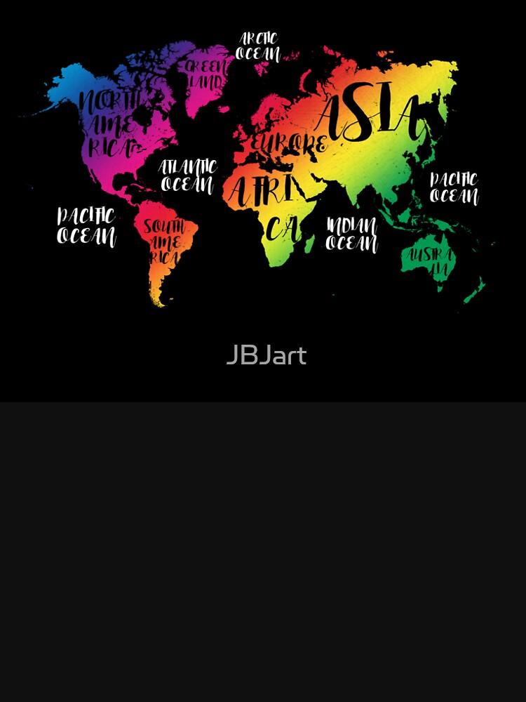 world map 137 #worldmap #map color by JBJart