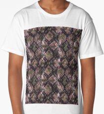 The pattern of snake skin.2 Long T-Shirt