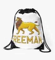 Freeman Lion Drawstring Bags Drawstring Bag