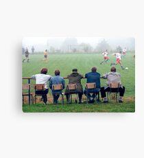 Soccer-Fans Canvas Print