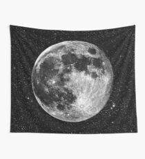 Vollmond Wandbehang