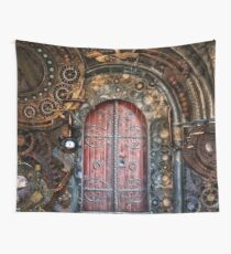 SteamPunk background Wall Tapestry