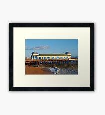 Victorian pier, Hastings Framed Print