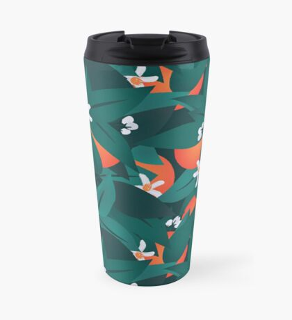Orange Blossoms Travel Mug