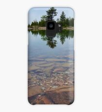 Tiny Island northern Ontario Canada Case/Skin for Samsung Galaxy