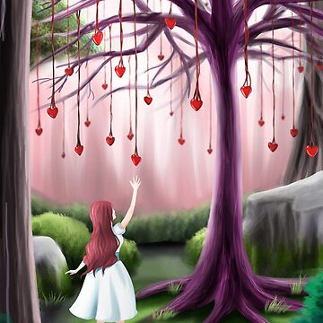 Hanging Hearts by TheSketcher