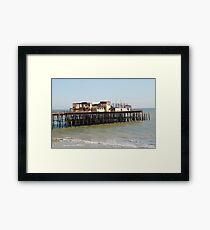 Hastings Victorian pier Framed Print