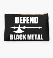 Defend Black Metal Studio Pouch