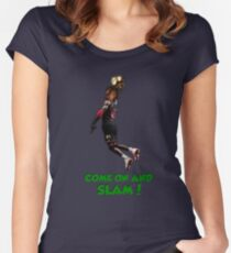 PoE Exalted Orb Slam Dunk Women's Fitted Scoop T-Shirt