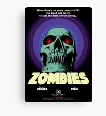 Goatess Doomwych : Zombies Canvas Print