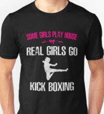 Womans Girls Kickboxing Unisex T-Shirt