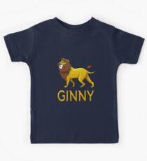Ginny Lion Drawstring Bags Kids Tee