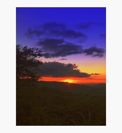 Rodeo Sunset Photographic Print