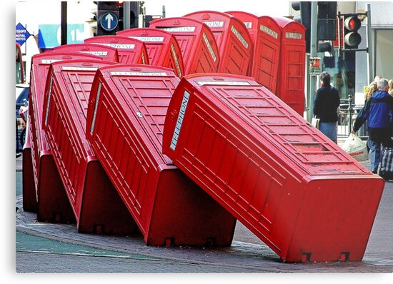 The Domino Effect - Out of Order !!!! by Colin  Williams Photography