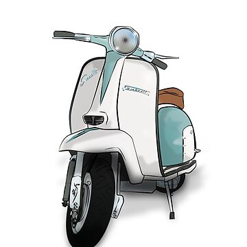 Lambretta Special - Vintage Scooter by collibosher