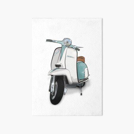 Lambretta Special - Vintage Scooter Art Board Print
