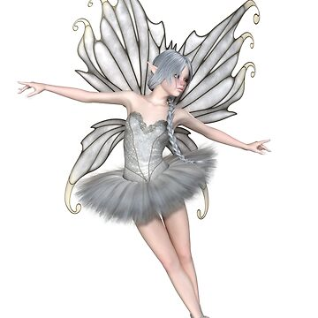 Ballerina Winter Fairy - 2 by algoldesigns