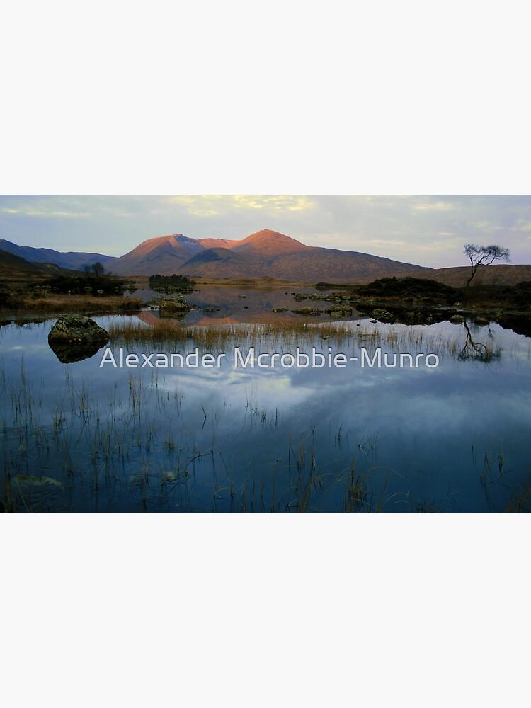 Blackmount  Lochan N achlaise by Alexanderargyll