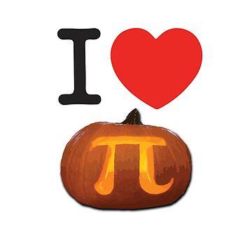 I Love Pumpkin Pi by ManoliMerch