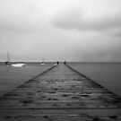 Vanishing Pier by Mike Herdering