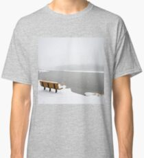 Looking Over the Frozen Lake Classic T-Shirt