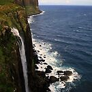 Kilt  Rock  and  Mealt Waterfall by Alexander Mcrobbie-Munro