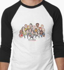 THE OFFICE THE OFFICE Men's Baseball ¾ T-Shirt