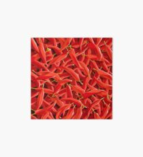 Too many chillies Art Board