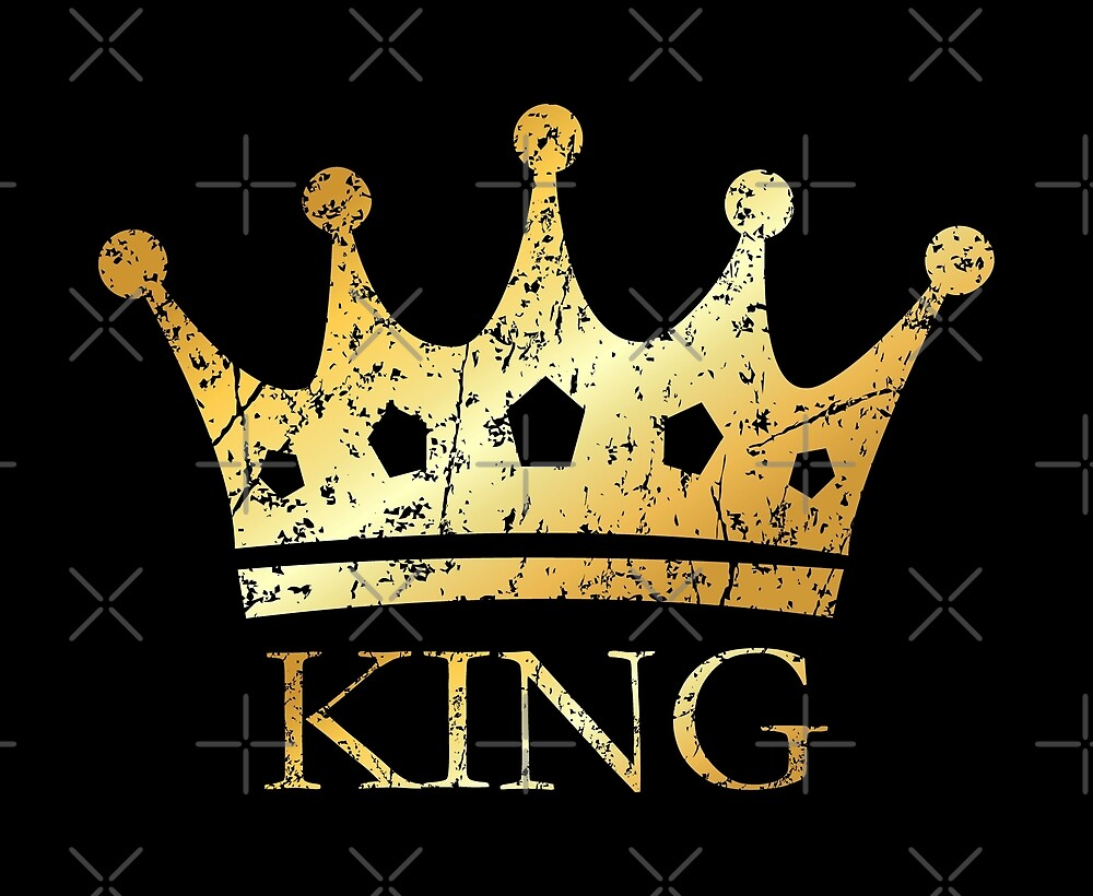 Royal Golden Crown King for Kings and Royals\
