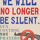 We Will No Longer Be Silent Anti-gun Protest by merchhost