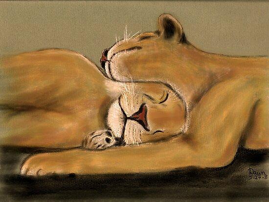 Big Cat Nap by Dawn B Davies-McIninch