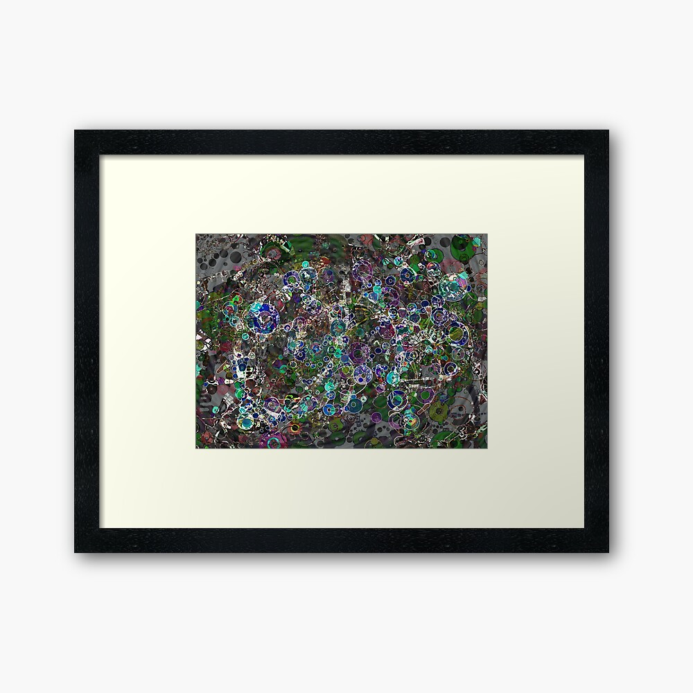 Wavefronts Framed Art Print