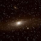M31 - The Great Andromeda Galaxie by Todd Weeks
