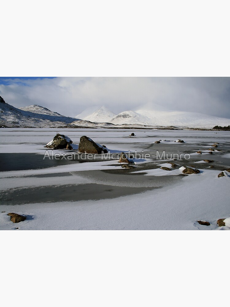 Blackmount Snowbound by Alexanderargyll
