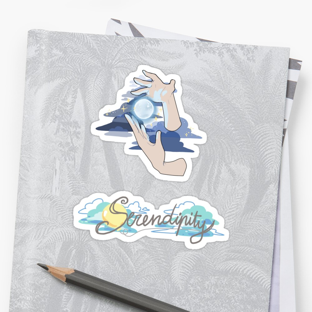 Serendipity Sticker