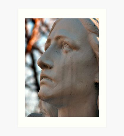 Mother Mary Crying Art Print
